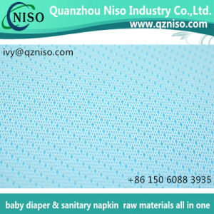 Breathable PE Perforated Film for Sanitary Napkin/Panty Liner Raw Materials pictures & photos