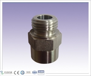 CNC Machining Stainless Steel 1/2 NPT Body Grease Fitting for Valve Part pictures & photos