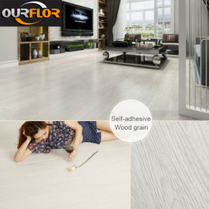 Self-Adhesive PVC Dry Back / Glue Down / PVC Vinyl Floor pictures & photos