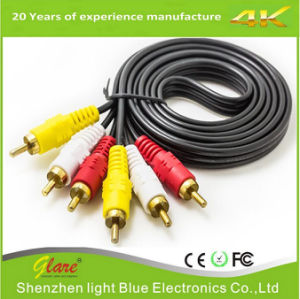 Male to Male 4FT 2RCA Audio Cable pictures & photos