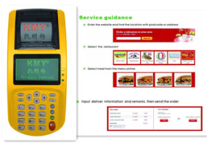 Kmy801d3 2g & 3G / WiFi POS Printer for Food Ordering pictures & photos