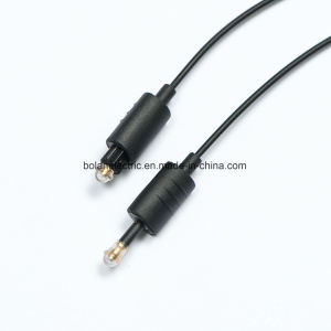 Toslink to Toslink Connector Fiber Optic Cable pictures & photos
