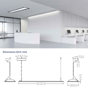 Float Square 300*1200mm Suspending LED Panel, Morden LED Pendant Light with 5 Years Warranty pictures & photos