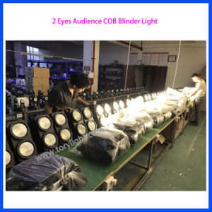 LED Stage DJ Lighting 2 Eyes COB Blinder Light pictures & photos