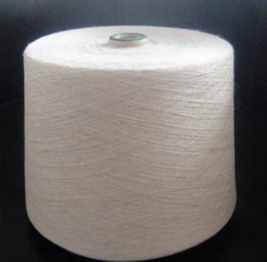 Rayon/Flax 70/30% Ne 7s Yarn Raw White for Weaving pictures & photos