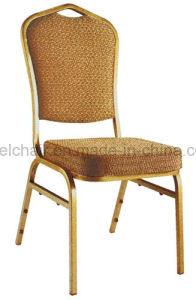 Hot Sale Comfortable Stacking Metal Hotel Chair for Catering pictures & photos