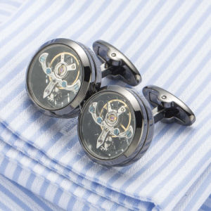Hotsale Tourbillon Cufflinks Watch Movement Cuff Links Lawyer Gift Gemelos 509 pictures & photos