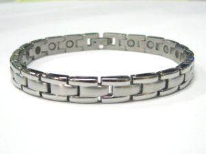 Stock Stainless Steel Bio Health Bracelet (CP-JS-BL-141) pictures & photos