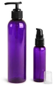 1oz 2oz 4oz 8oz 16oz Purple Cosmo Pet Bottle with Fine Mist Sprayer pictures & photos
