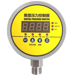 MD-S900e Radial Mounting High Precision Water, Oil, Gas Intelligent Digital Pressure Switch pictures & photos
