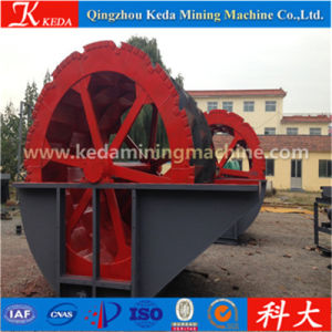 Several Wheel Bucket Sand Washing Machine pictures & photos