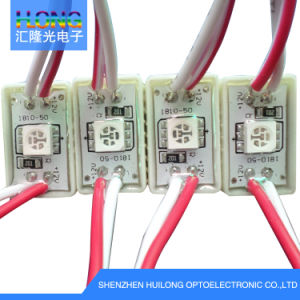 Mini LED Module 2LED SMD5050 LED Module 12*45mm pictures & photos