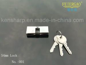 Aluminum Sliding Door Lock with Brass or Zinc Cylinder 001 pictures & photos