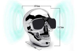 Skull Head Ghost Head Stereo Bass Mini Subwoofer Bluetooth Speaker pictures & photos
