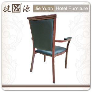 Black High Grade Leather Alumium Armchair for Meeting (JY-F28) pictures & photos