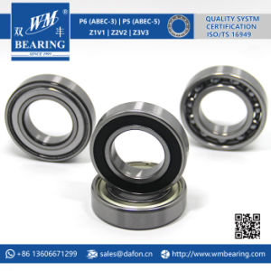6006 2RS Low Friction Sealed Deep Groove Ball Bearing pictures & photos
