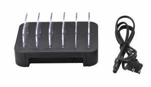 Universal High Power 5ports USB Mobile Phone Battery Holder Charger pictures & photos