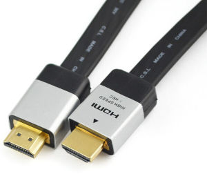 HDMI Cable Flat Cable 1.3/1.4/2.0 Version pictures & photos