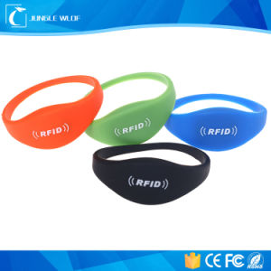 Waterproof Silicon Wristband (125kHz & 13.56MHz) pictures & photos