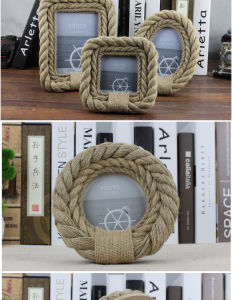 "4*6"" Photo Frame with Rope pictures & photos"