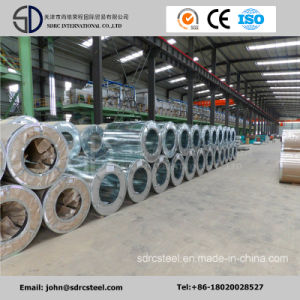 Regular Spangle and Z100 Hot/Cold Rolled Corrugated Roofing Metal Sheet Building Material Hot Dipped Galvanized/Galvalume Steel Coil Gi pictures & photos