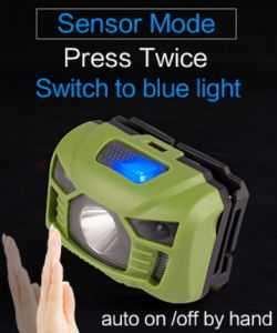 Rechargeable Headlight with Sensor Switch pictures & photos