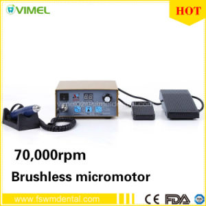 70, 000rpm Portable Dental Micromotor Polishing Motor pictures & photos
