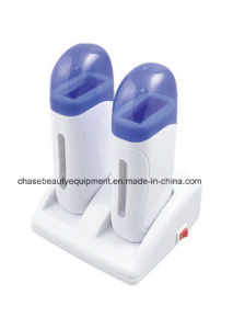 Double Depilatory Wax Heater with Base Machine for Sale pictures & photos