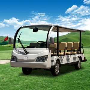 China Top Sale 14 Passengers Electric Sightseeing Car pictures & photos