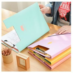 High Quality Metal File Folder Promotion, Print Cover Folder