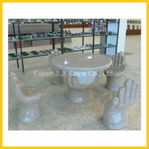 Garden Furniture Outdoor Stone Table & Chair pictures & photos