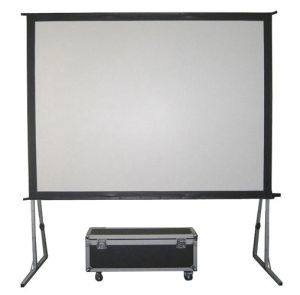 72-400 Inch Fast Folding Screen with Front and Rear Material pictures & photos