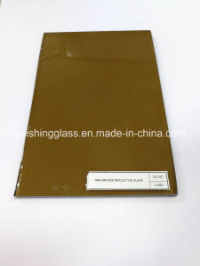 Hot Sale 5mm Bronze Tinted Reflective Glass pictures & photos