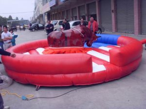 Inflatable Bull Riding/Inflatable Bull Ride for Kids and Adults pictures & photos