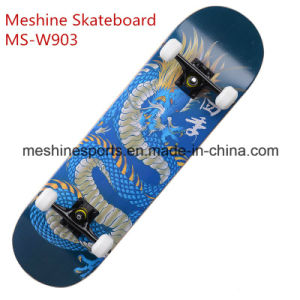 Cheap and High Quality Maple Complete Wood Skateboard pictures & photos