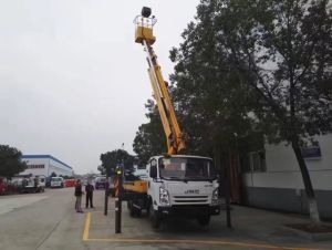 12 Meters Hydraulic Aerial Cage pictures & photos