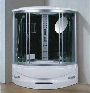 1450mm Sector Steam Sauna with Jacuzzi and Shower for 2 Persons (AT-GT2145F) pictures & photos