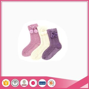 Knit Ladies Socks for Indoor Slippers pictures & photos
