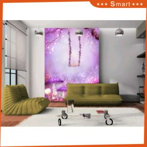 Fantastic Purple Mushrooms and Swings for Home Decoration Oil Painting pictures & photos