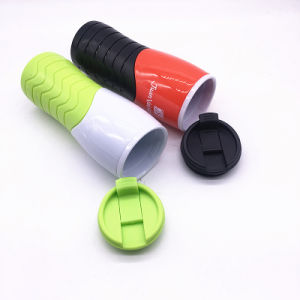 Food Grade Plastic Dome Lid Drinking Tumlber Cup Reusalbe (SH-PM41) pictures & photos