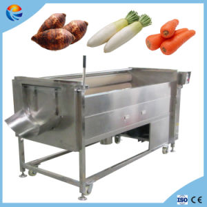 Automatic Carrot Cassava Taro Guava Potato Peeling Washing Machine pictures & photos