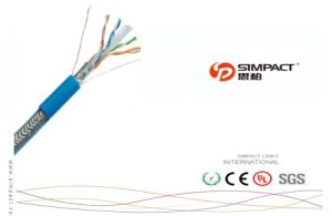 UL, CE, RoHS Apporved Self-Extinguishing FTP CAT6 Network Cable pictures & photos