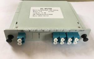1*8 LC/PC PLC Splitter (Insertion type) pictures & photos
