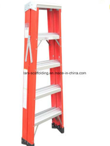 Double Side Folding Agility FRP Step Ladder pictures & photos
