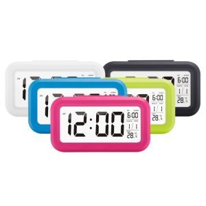 Five Coloroption Digital LED Snooze Alarm Clock pictures & photos