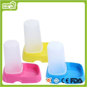 Three Colors Plastic Pet Water Feeder pictures & photos