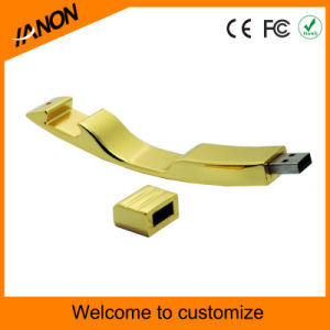 Golden Lock USB Flash Memory Metal USB Flash Drive pictures & photos
