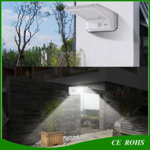 Green Outdoor Solar Lighting Pinhole Switch 20LED Solar Wall Light with PIR Motion Sensor pictures & photos