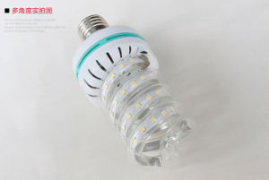 Spiral Shape 48*105mm LED Energy Saving Lamp 7W Corn Light LED Bulb pictures & photos