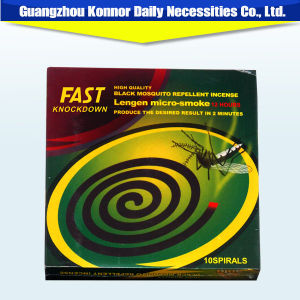 Mosquito Repellent Products 130mm Black Mosquito Coil pictures & photos